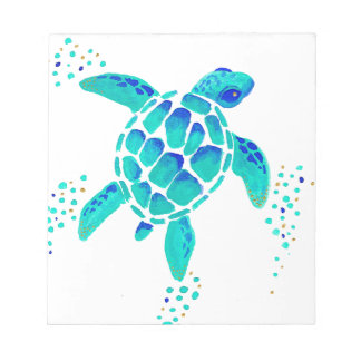 Neptune's Turtle Notepad