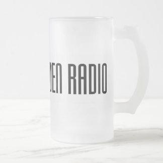 NER Frosted Glass Mug