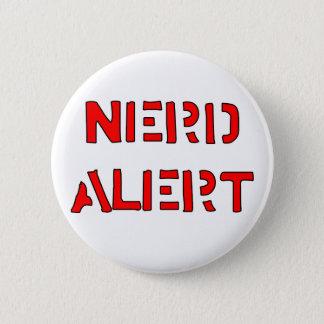 Nerd Alert 2 Inch Round Button