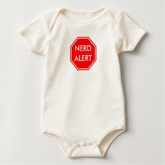 NERD ALERT babies cotton onesy Baby Bodysuit