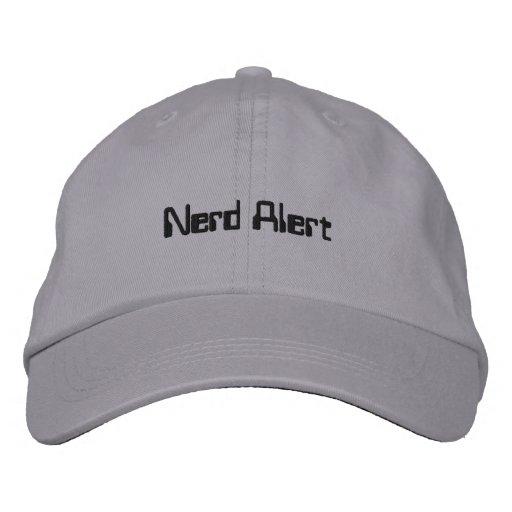 Nerd Alert Cap Embroidered Baseball Cap