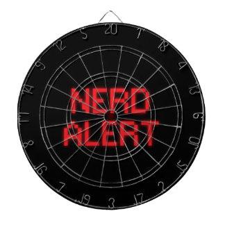 Nerd Alert Dartboard With Darts