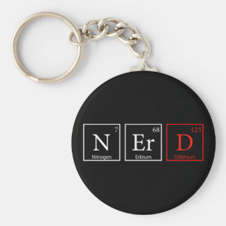NErD and proud (Dark) Keychain