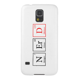 Nerd and proud (light) galaxy s5 cover
