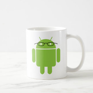 Nerd Android Coffee Mug