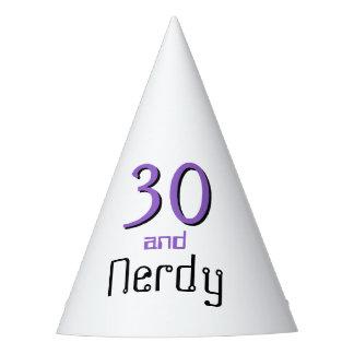 Nerd birthday hat