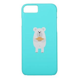 Nerd Black Bear Q1Q iPhone 8/7 Case
