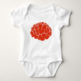 Nerd brain baby bodysuit