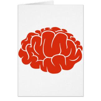 Nerd brain card