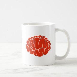Nerd brain coffee mug