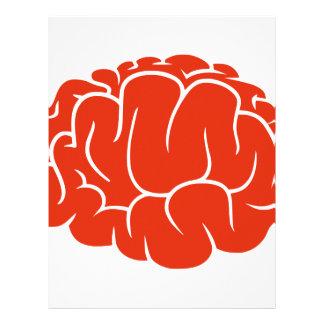 Nerd brain customized letterhead