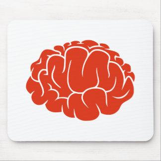 Nerd brain mouse pad