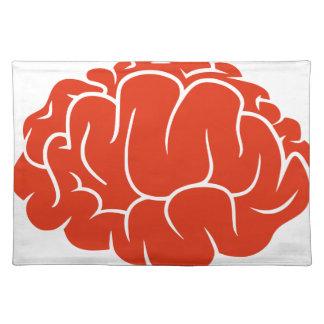 Nerd brain placemat