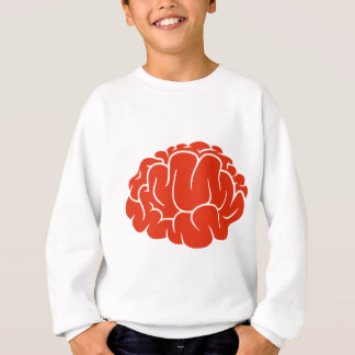 Nerd brain sweatshirt