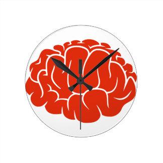 Nerd brain wall clocks