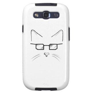 Nerd cat samsung galaxy s3 case