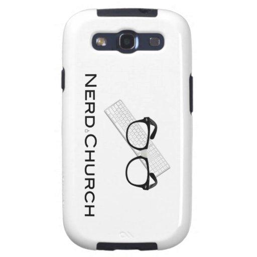NERD CHURCH Galaxy S3 Phone Case Samsung Galaxy SIII Cover