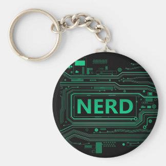 Nerd concept. keychain