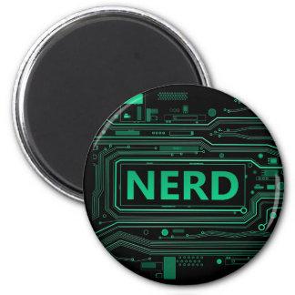 Nerd concept. magnet