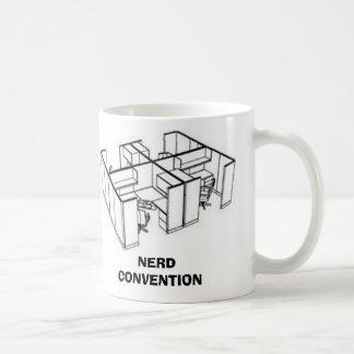 NERD CONVENTION COFFEE MUG