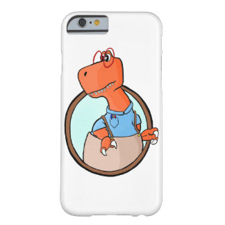 Nerd Dinosaur Barely There iPhone 6 Case