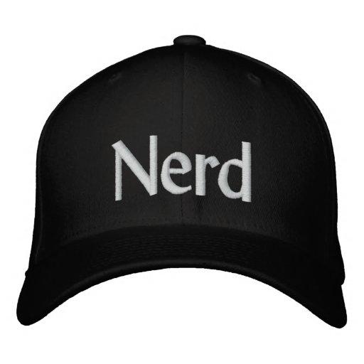 Nerd Embroidered Hat