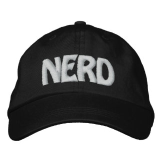 NERD EMBROIDERED HATS