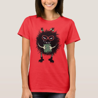 Nerd Evil Bug Student Loves Reading T-Shirt