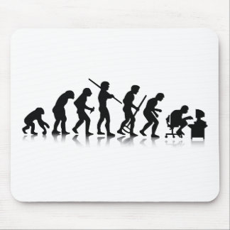 Nerd Evolution Mouse Pad