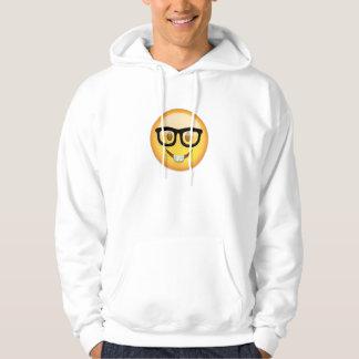 Nerd Face Emoji Hoodie