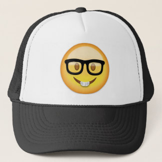 Nerd Face Emoji Trucker Hat