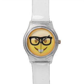 Nerd Face Emoji Watch