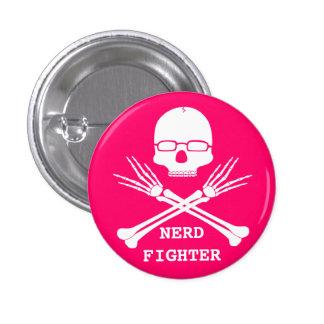 NERD FIGHTER, Customize colour (see description) 1 Inch Round Button