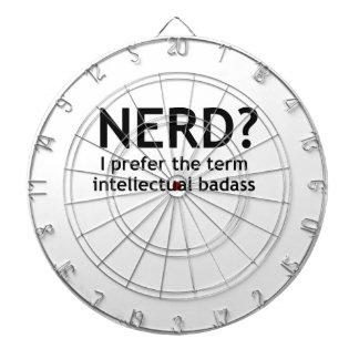 Nerd? Funny, geeky design Dart Boards