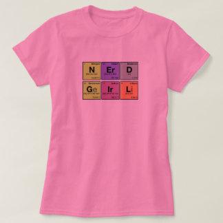 NERD GIRL! Periodic Elements Scramble T-Shirt