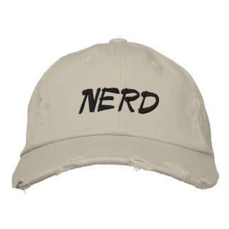 Nerd Hats by M c Pressure Embroidered Baseball Cap