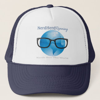 Nerd Herd Running Trucker Hat