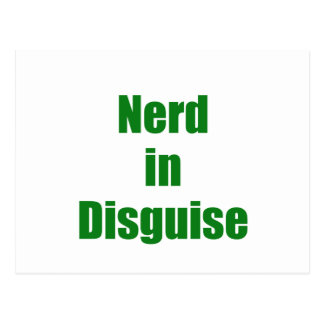 Nerd in Disguise Post Card