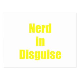Nerd in Disguise Postcard