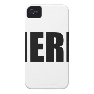 NERD iPhone 4 COVER