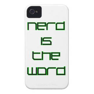 Nerd is the Word Case-Mate iPhone 4 Case
