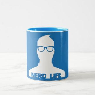 Nerd Life Two-Tone Coffee Mug