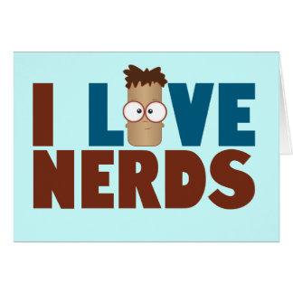 Nerd Love - Brown Card