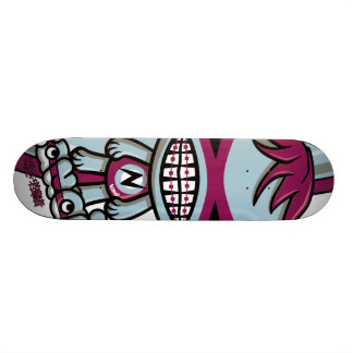 Nerd Mascot Skate Deck