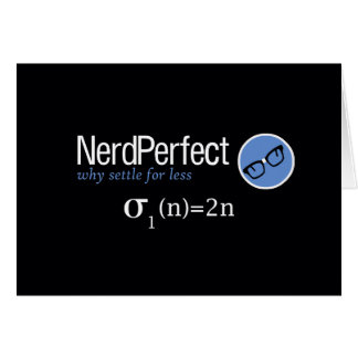 Nerd Perfect Card