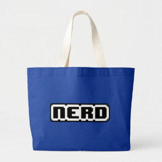 Nerd Pixel Tote Bag
