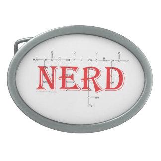 'NERD' polypeptide belt buckle. Belt Buckle