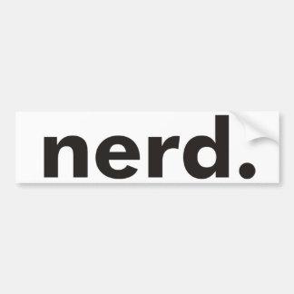 Nerd Products & Designs! Bumper Sticker