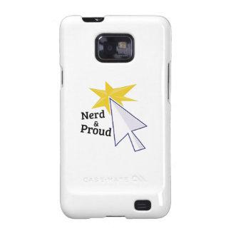 Nerd & Proud Galaxy SII Covers