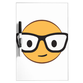nerd smile face AdobeStock_122200113.ai Dry Erase Board